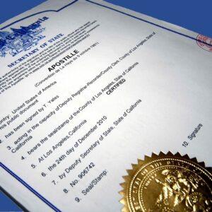 Апостилирование и легализация документов